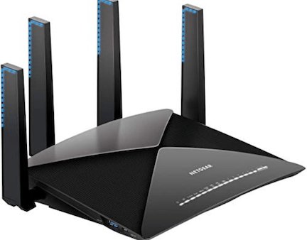 NETGEAR R9000 Routeur intelligent WiFi AD7200 Nighthawk X10