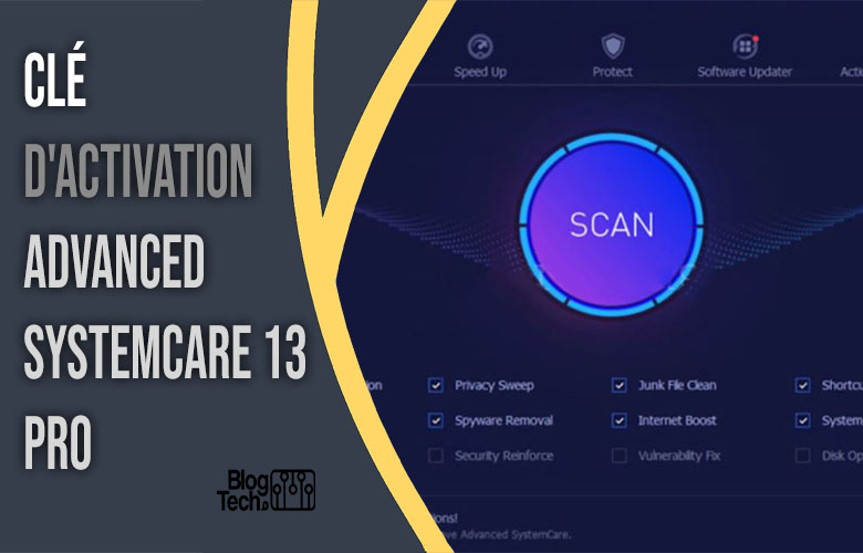 clé d'activation Advanced SystemCare 13 Pro